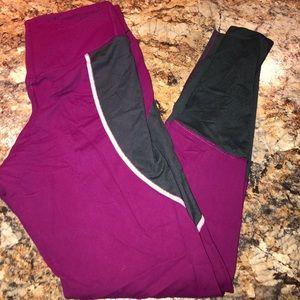 Hot pink Nike Leggings Sz M